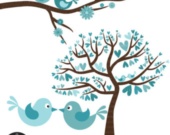 Turquoise clipart tree #1