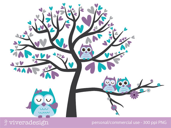 Turquoise clipart tree #8