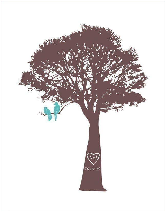 Turquoise clipart tree #9