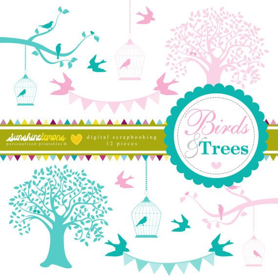 Turquoise clipart tree #14
