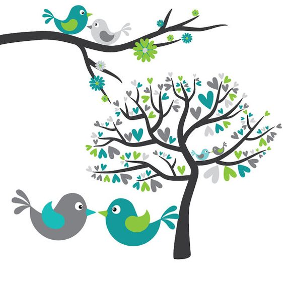 Turquoise clipart tree #3