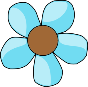 Turquoise clipart turquoise flower #5