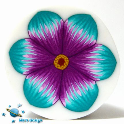 Turquoise clipart turquoise flower #14