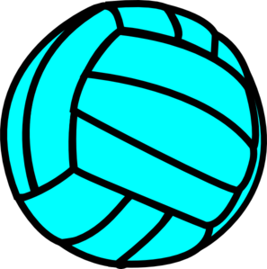 Blue clipart volleyball At royalty Clip online Art