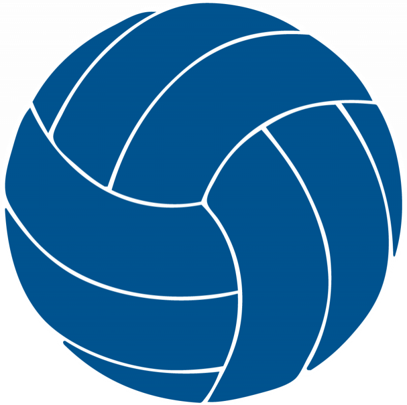 Blue clipart volleyball Images volleyball clip Blue free