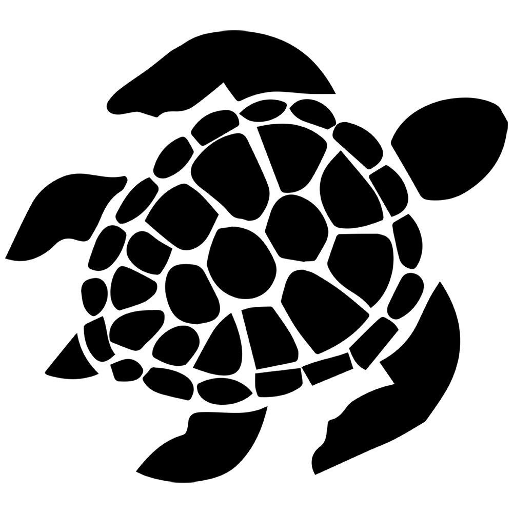 Turtoise clipart footprint #5
