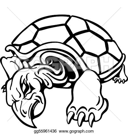 Turtle clipart angry #9