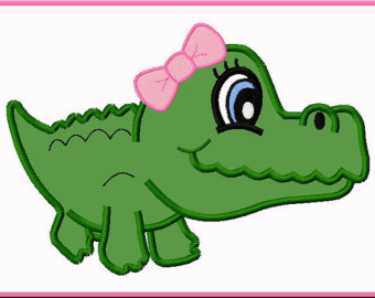 Alligator clipart cute Clipart Baby Free Alligator Images