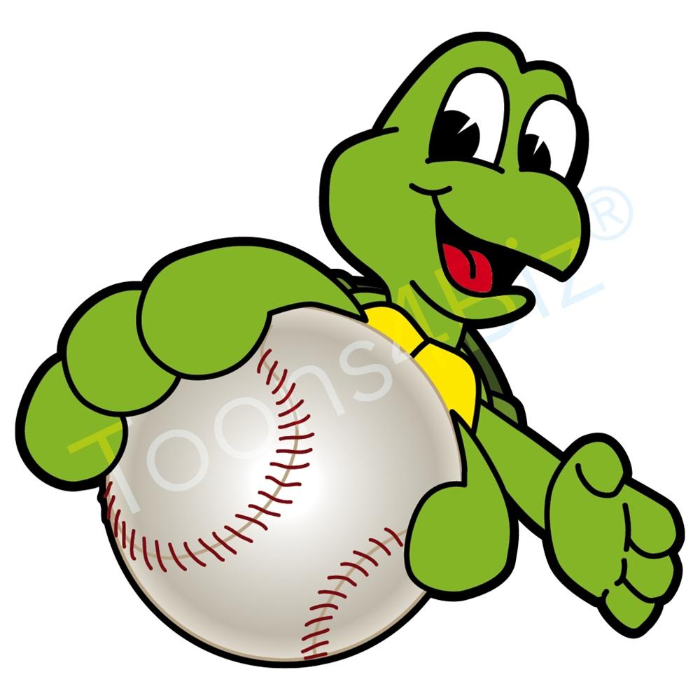 Turtle clipart baseball #8