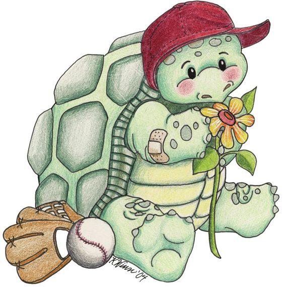 Turtle clipart baseball #5