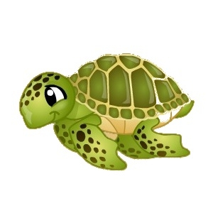 Sea Turtle clipart turtle swimming #4