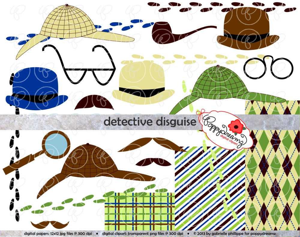 Turtle clipart detective #9