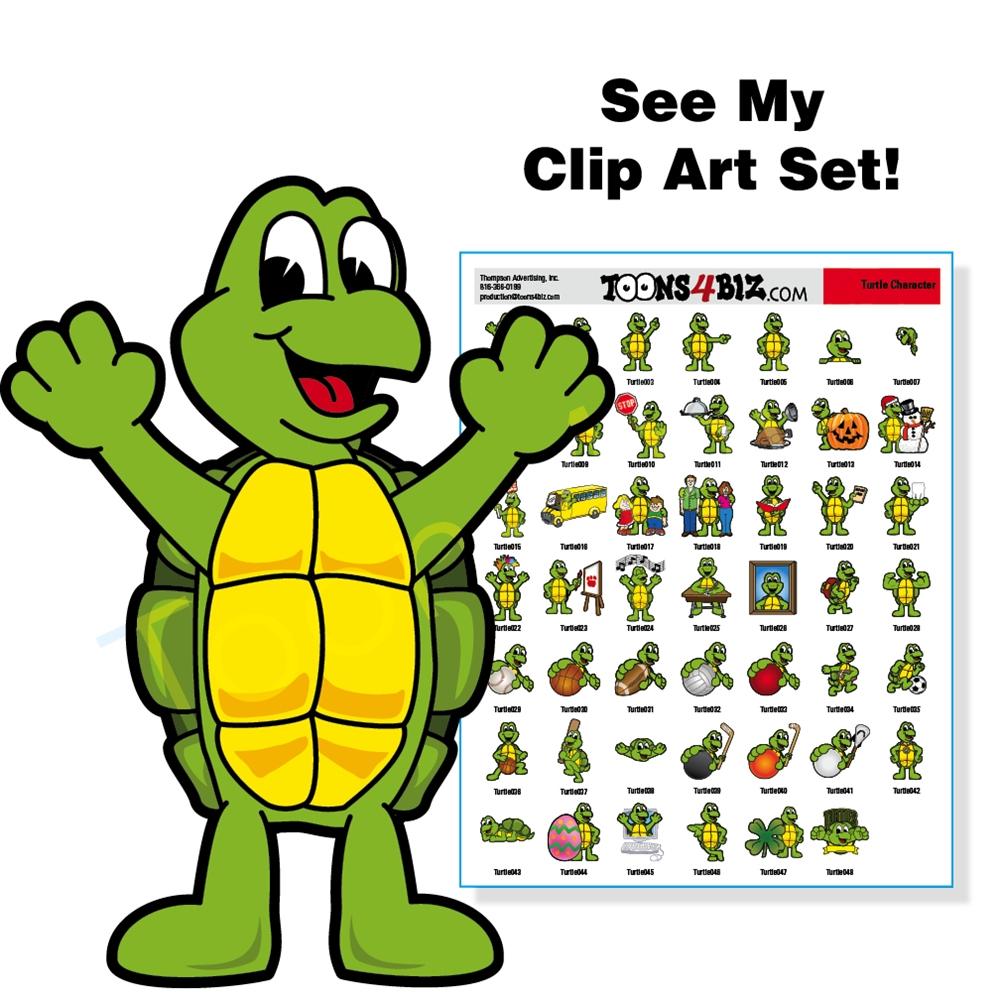 Turtle clipart detective #10