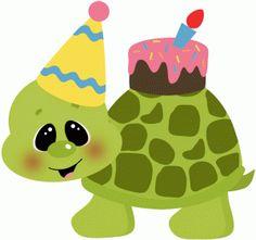 Turtle clipart happy birthday #11