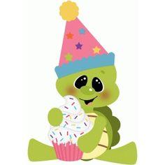Turtle clipart happy birthday #6