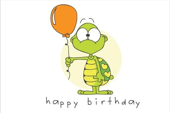 Turtle clipart happy birthday #14