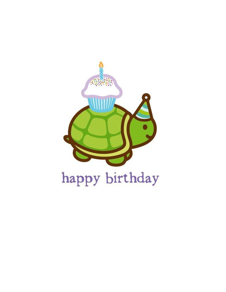 Turtle clipart happy birthday #15