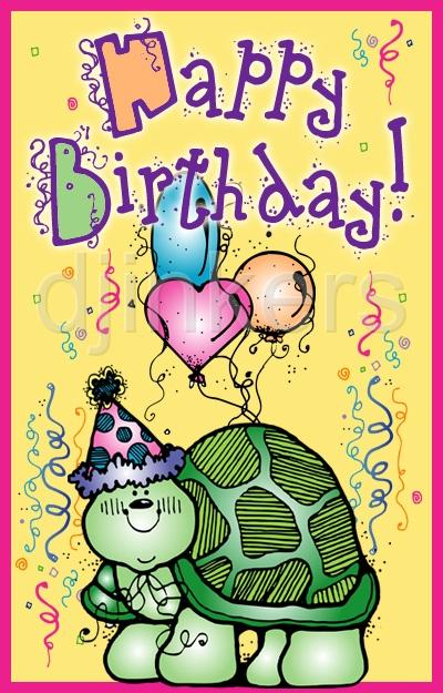 Turtle clipart happy birthday #10