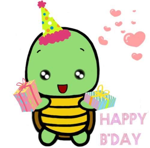 Turtle clipart happy birthday #9