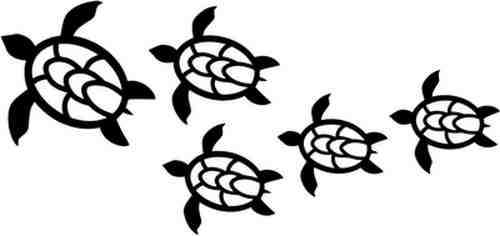 Turtle clipart hawaii #7