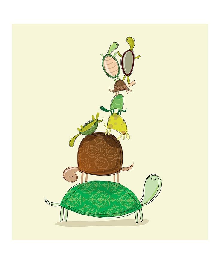Turtle clipart mom #4