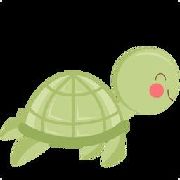 Turtle clipart mom #12