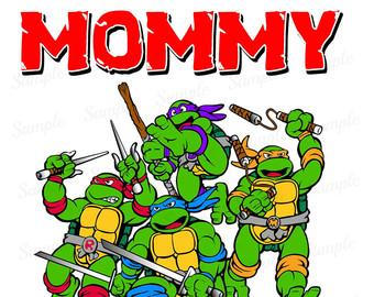 Turtle clipart mom #7
