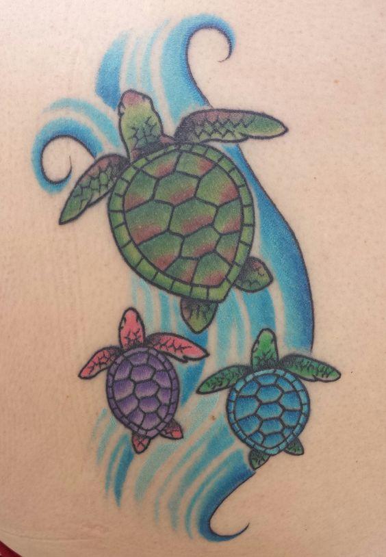 Turtle clipart mom #5