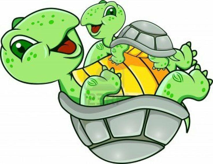 Turtle clipart mom #2