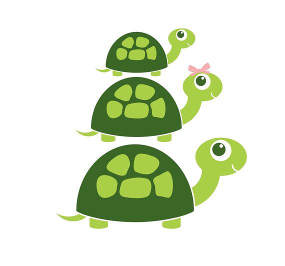 Turtle clipart mom #1