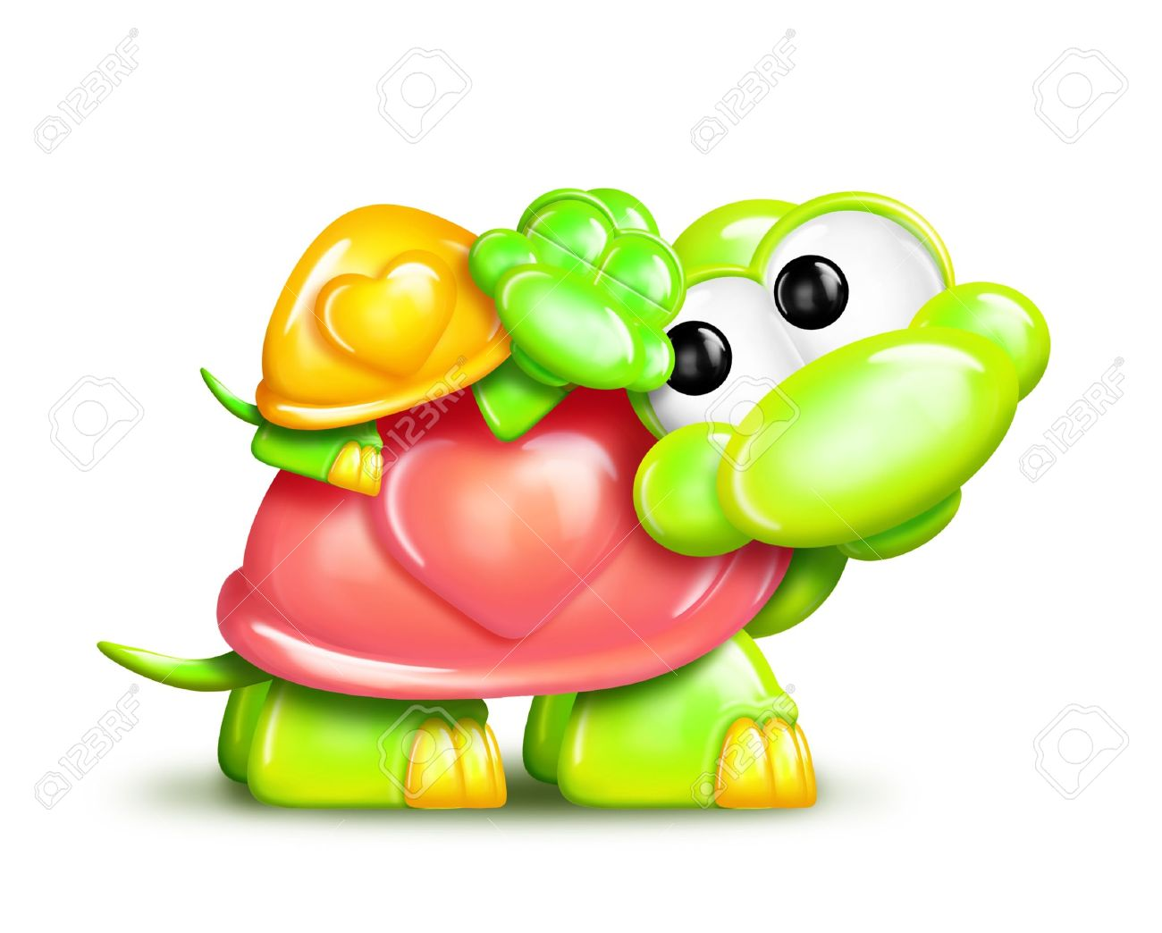Turtle clipart mother and baby #15