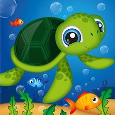 Sea Turtle clipart aquatic #6