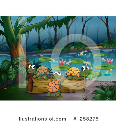 Turtle clipart nature #8