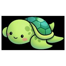 Turtle clipart nature #1