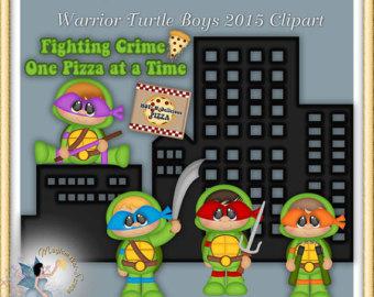 Turtle clipart one Boys Vectors Clip Art Turtles