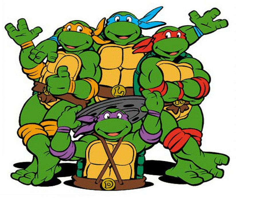 Turtle clipart one On Free Ninja  Turtles