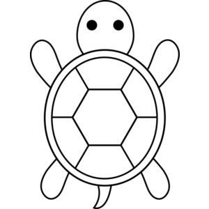 Turtle clipart pattern #8