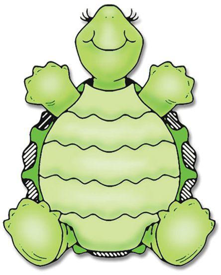 Turtle clipart pattern #3
