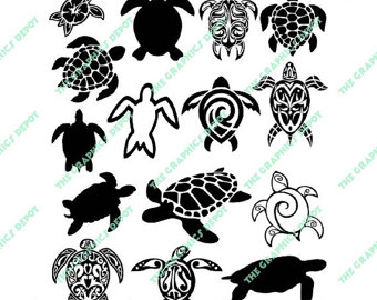 Turtle clipart pattern #6
