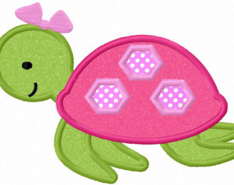 Sea Turtle clipart pink #2