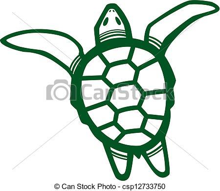 Turtle clipart sea plant #2