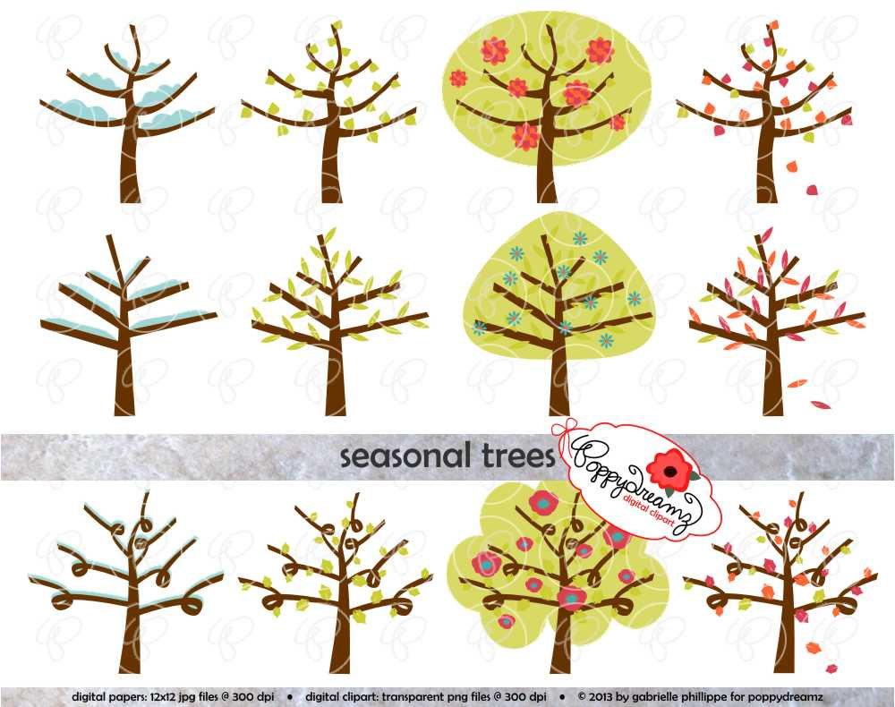 Season clipart autumn winter #4