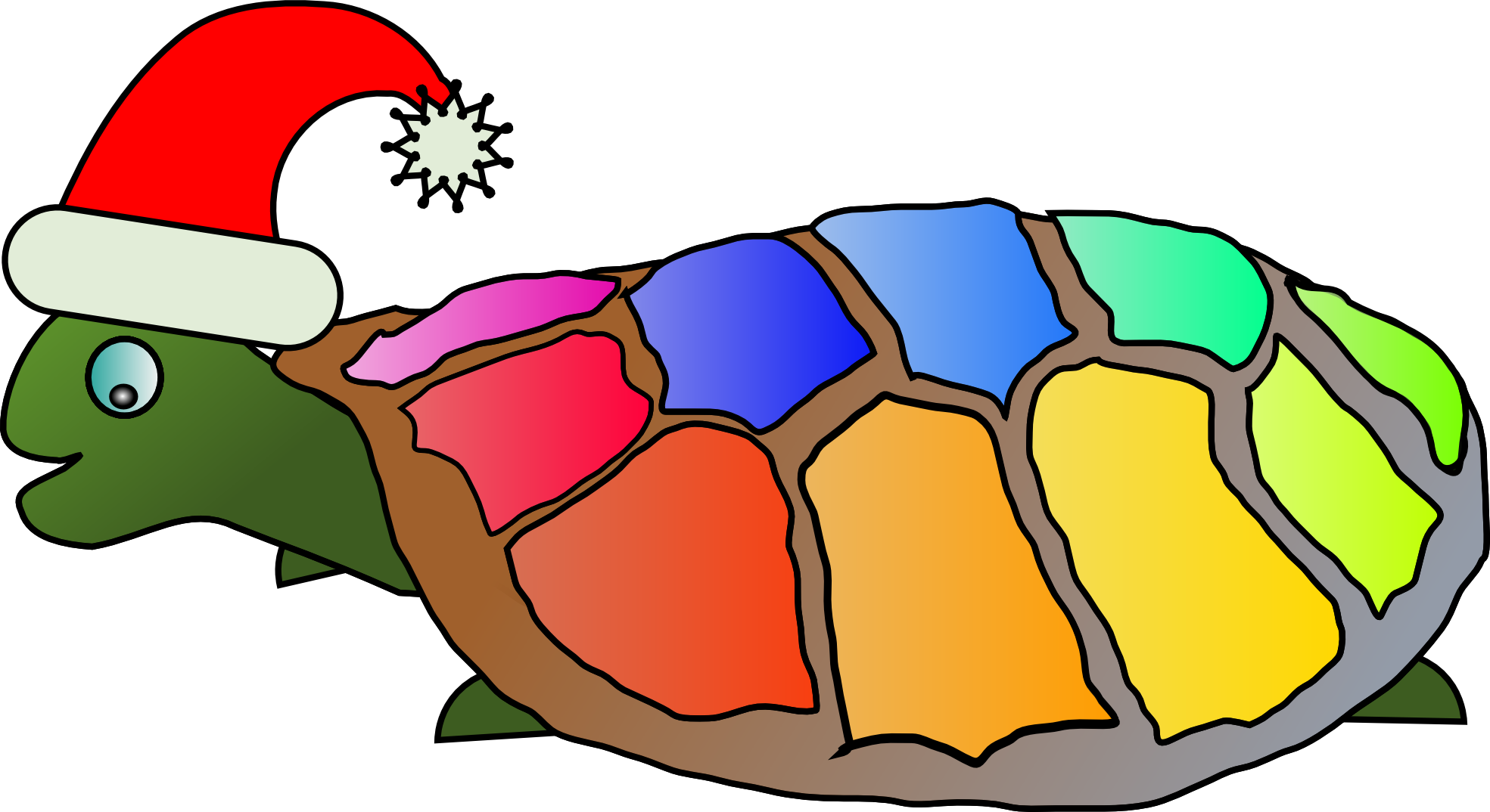 Holydays clipart turtle Winter  Christmas clipart Art