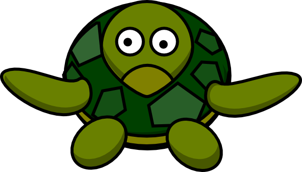 Turtle clipart silly #11