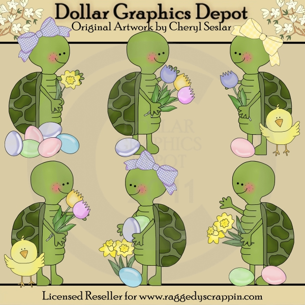 Turtle clipart silly #13