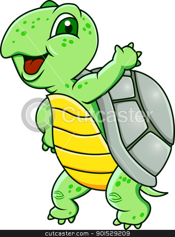 Turtle clipart silly #7