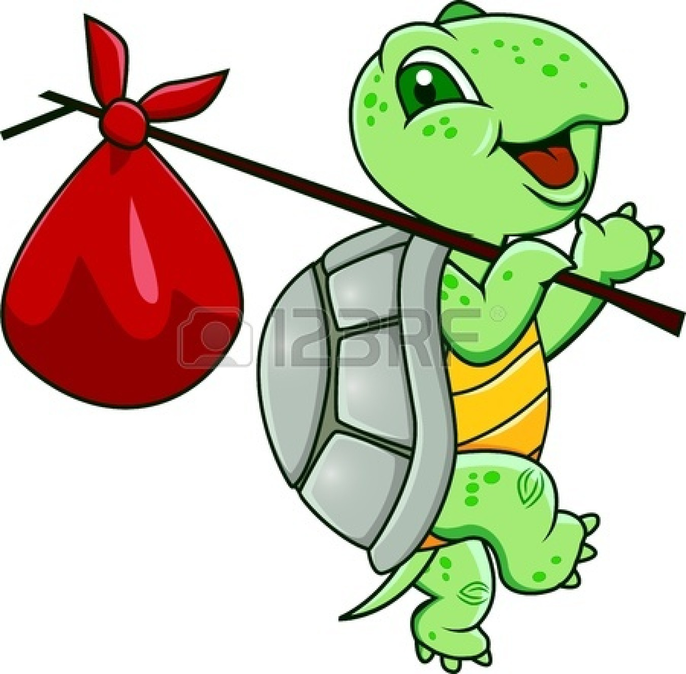 Turtle clipart silly #8