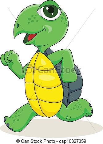Turtoise clipart fast #2