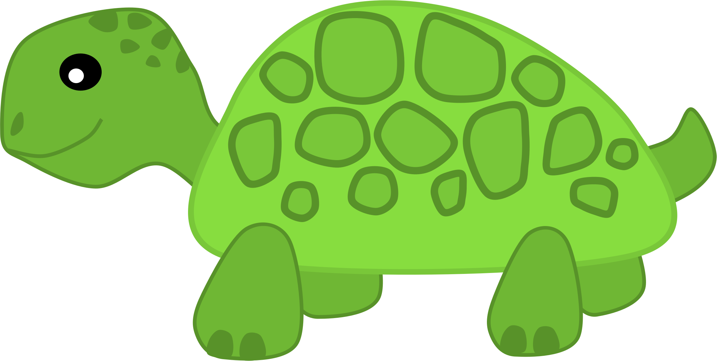 Turtle clipart small #3