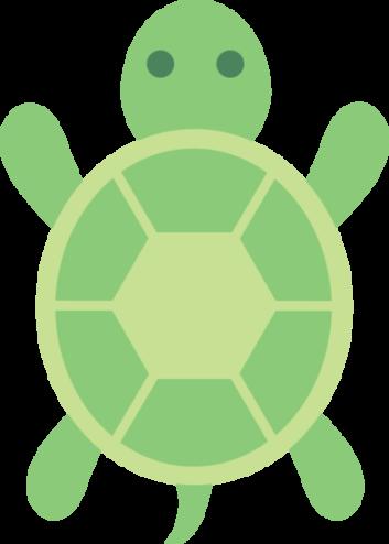 Turtle clipart small #2